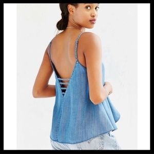 Urban Outfitters BDG Chambray Cami